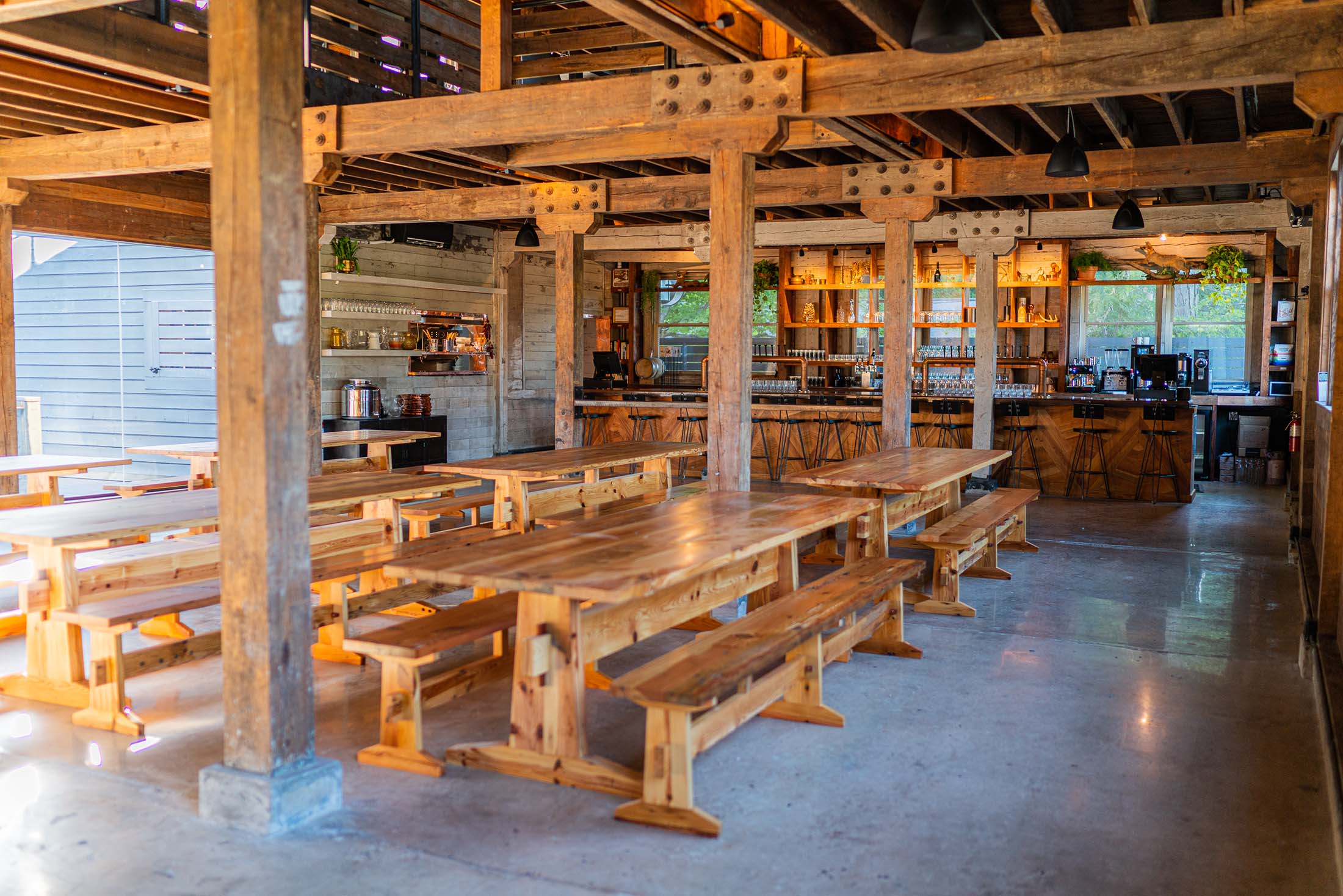 Burial Beer Co.'s monumental restoration project of a two-acre 1930s workers camp completes with this weekend's opening of the Forestry Camp Bar & Restaurant