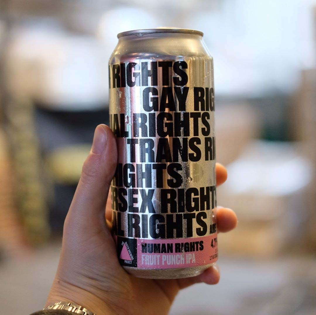 The Queer Brewing Project x Austmann, LGBTQ Rights are Human Rights