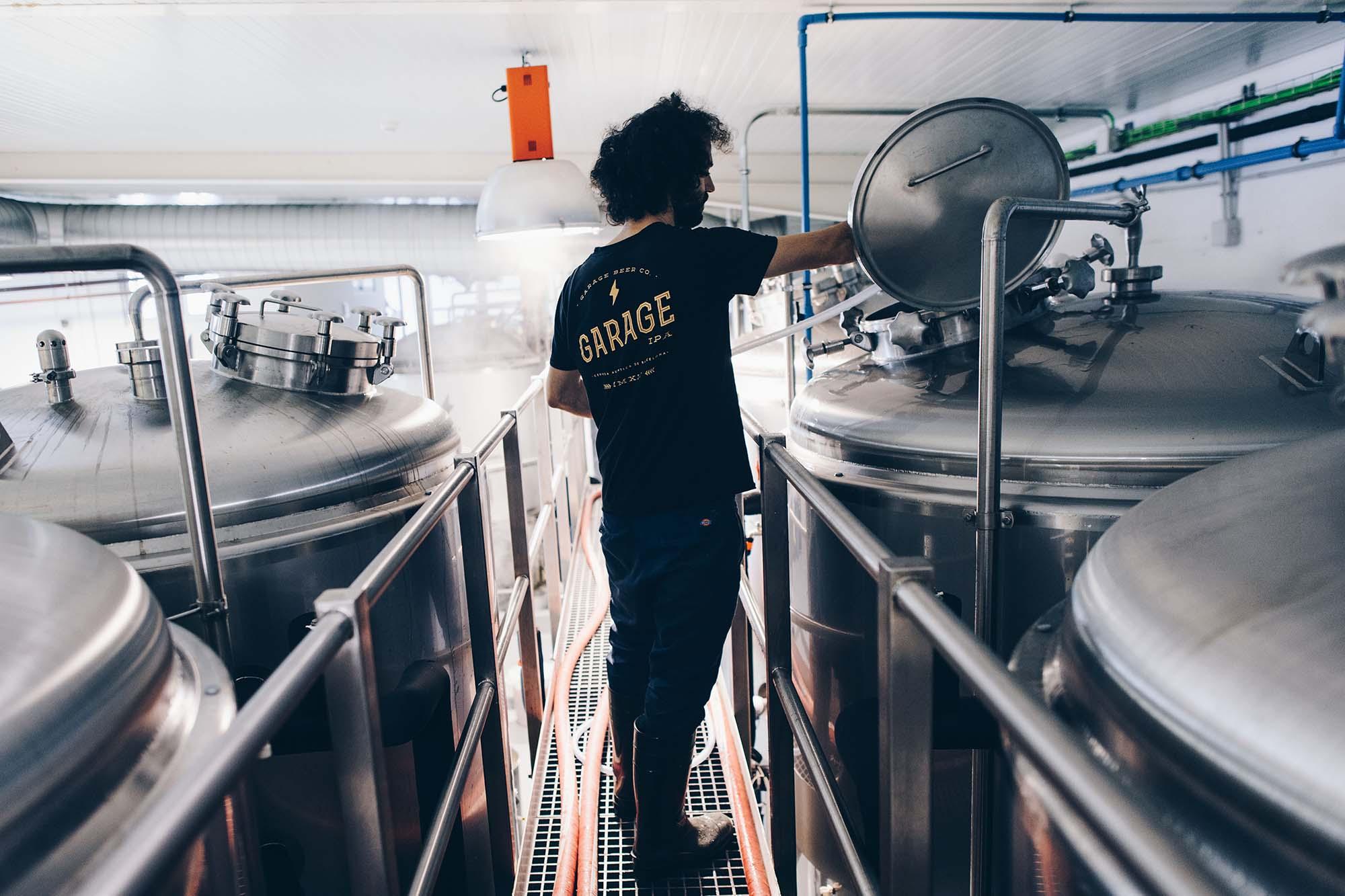 Barcelona craft beer guide: Garage Beer Co., Sant Andreu