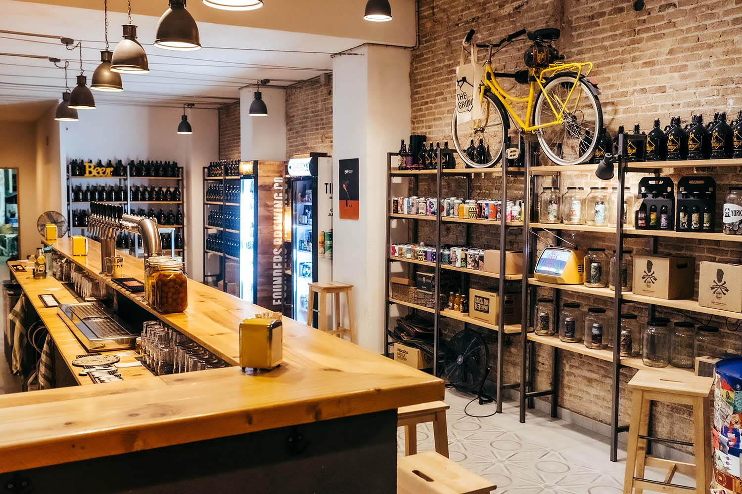 The Growler, the perfect spot for a relaxed after-work pint of craft beer