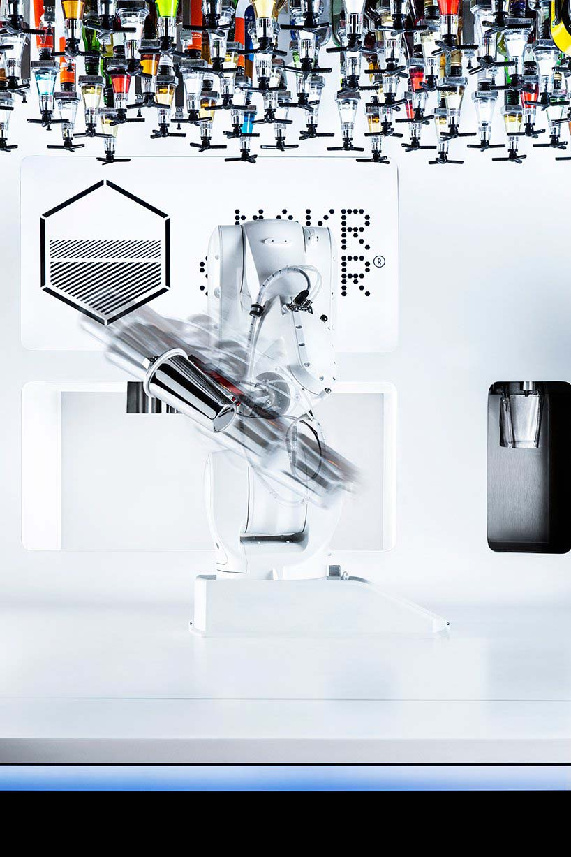 The Makr Shakr Toni is a robot bartender already in existence