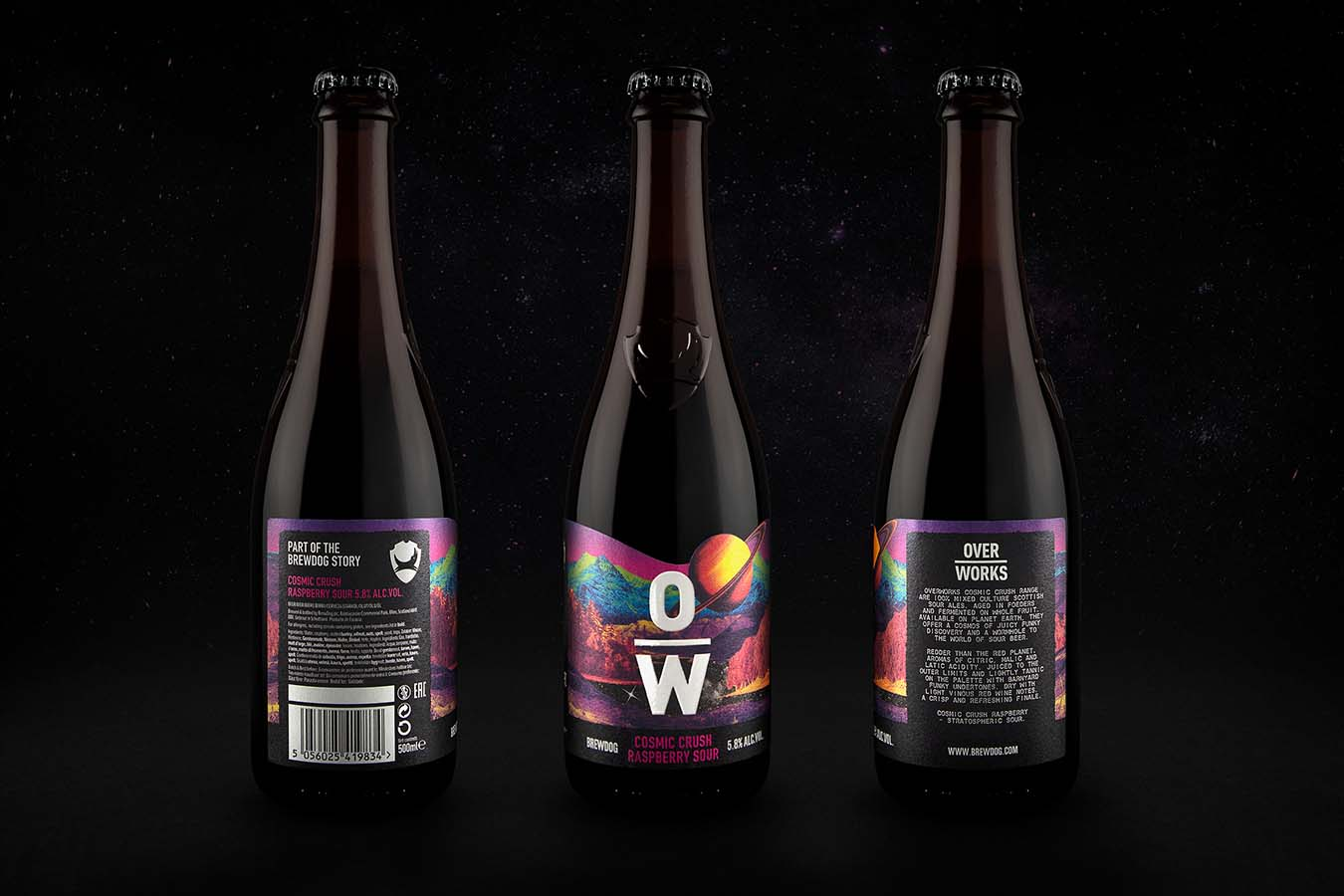 BrewDog OverWorks, Cosmic Crush Series