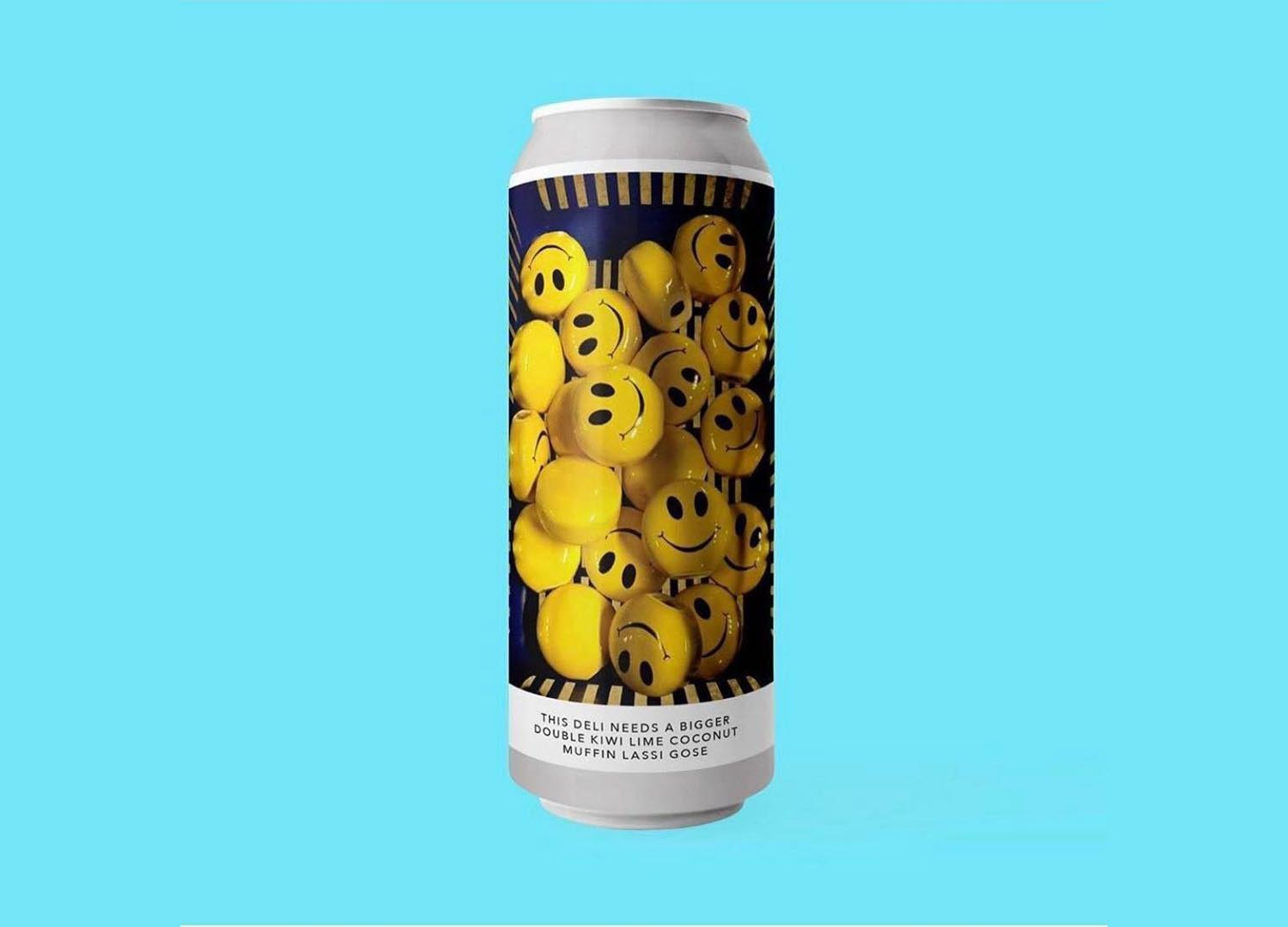Evil Twin NYC x Omnipollo, This Deli Needs a Bigger Double Kiwi Lime Coconut Muffin Lassi Gose