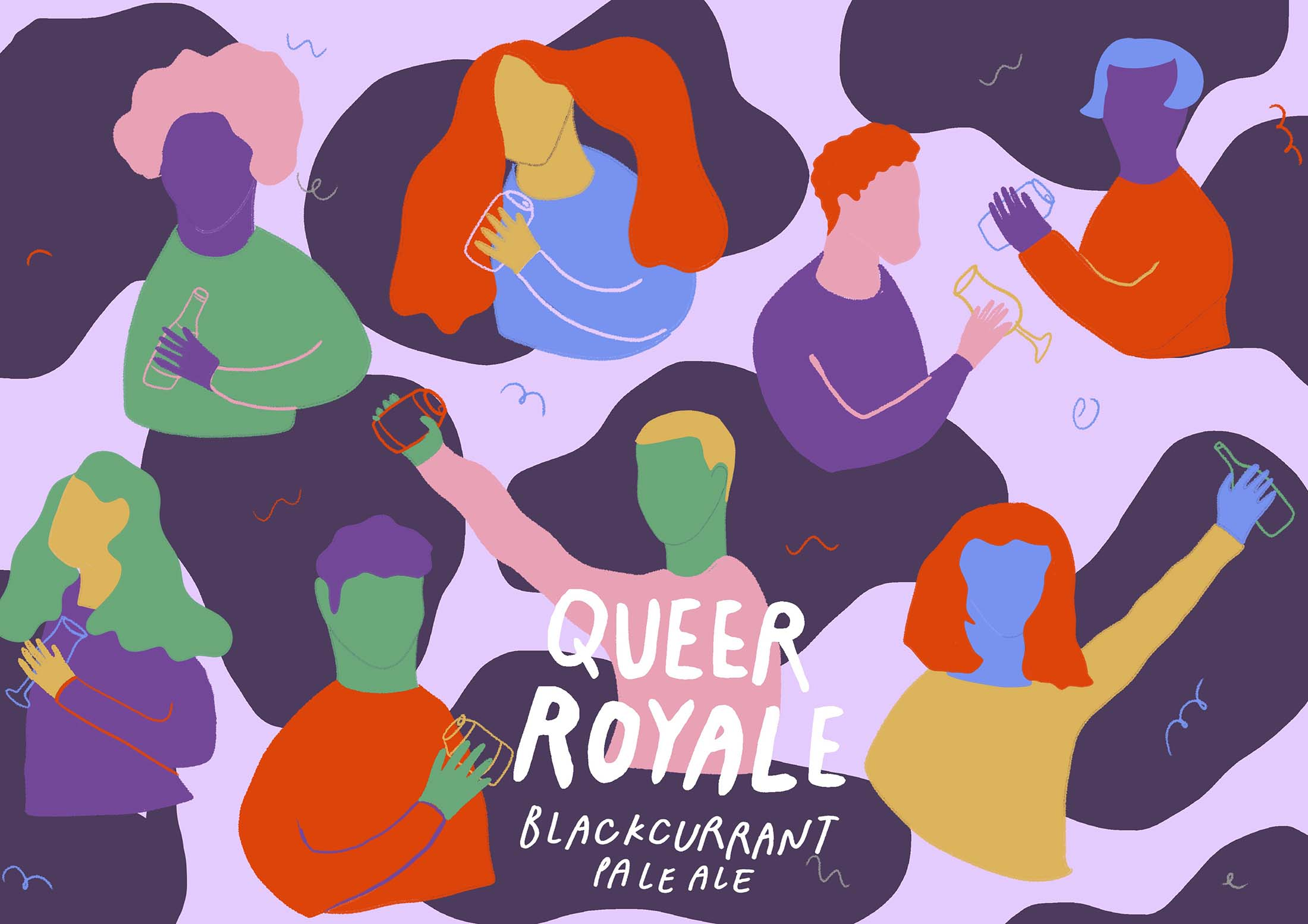 The Queer Brewing Project x Affinity Brew Co., Queer Royale