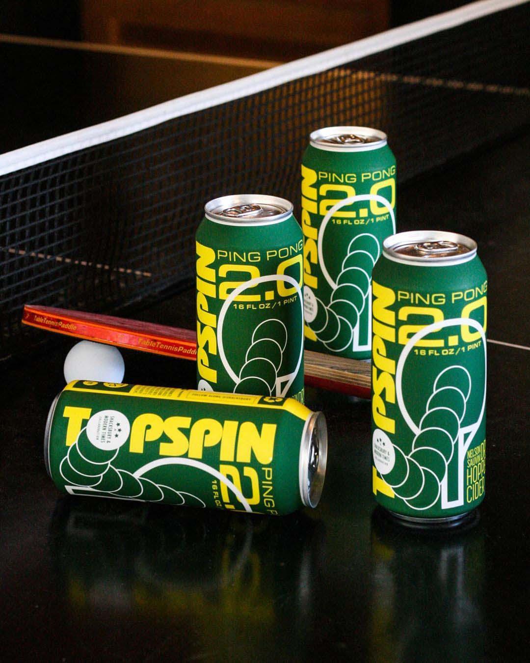 Shacksbury Cider x Modern Times Beer, Topspin Ping Pong 2.0