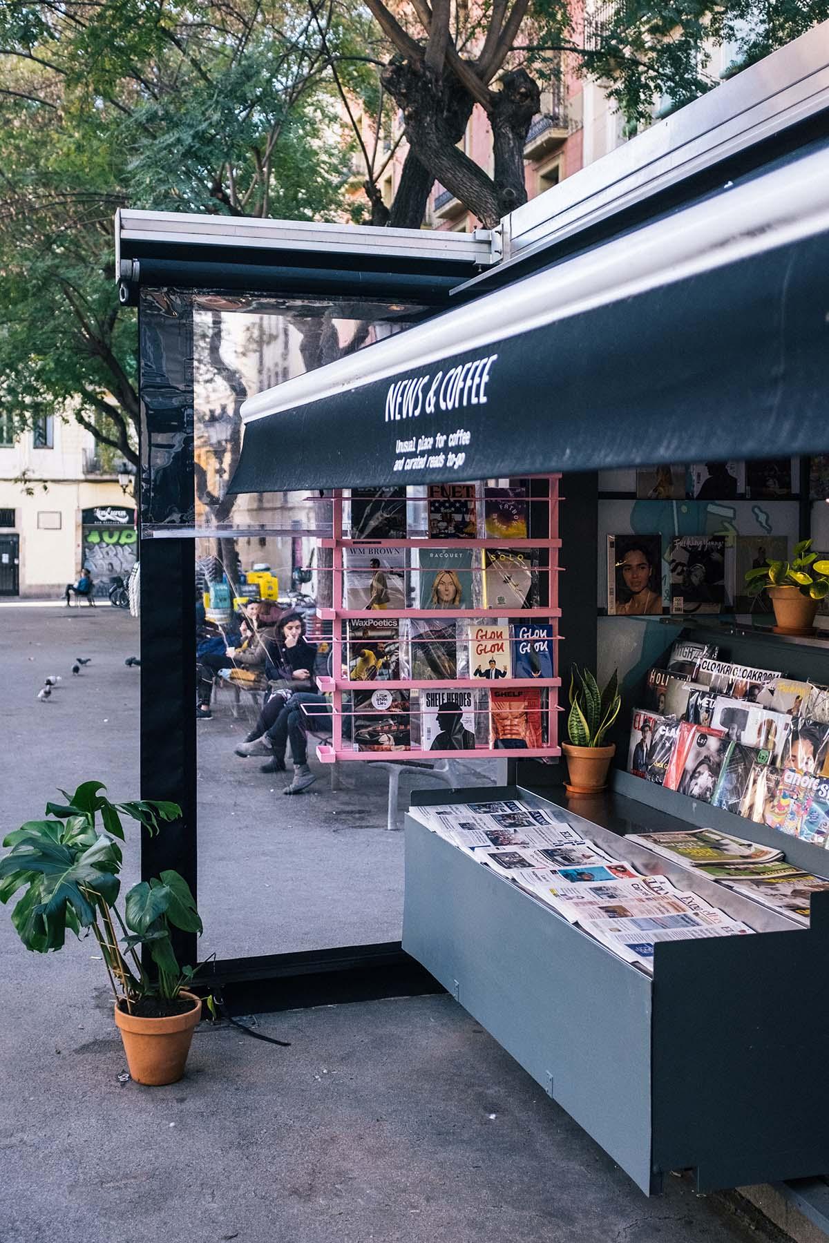 News & Coffee Gràcia